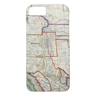 Coque iPhone 8/7 Carte du Mexique et de la Californie