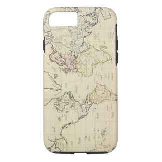 Coque iPhone 8/7 Carte du monde