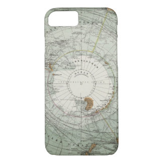 Coque iPhone 8/7 Carte du sud de région polaire