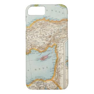 Coque iPhone 8/7 Carte méditerranéenne orientale