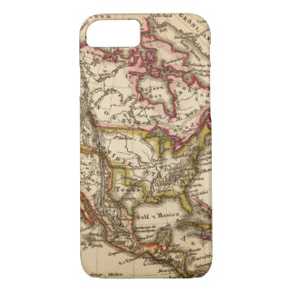 Coque iPhone 8/7 Carte nord-américaine 2