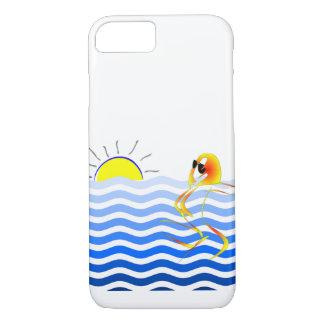 Coque iPhone 8/7 Cas astucieux de téléphone de plage