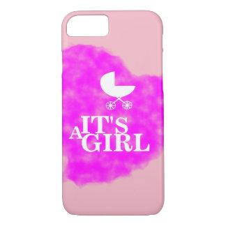 Coque iPhone 8/7 Cas c'est une fille !