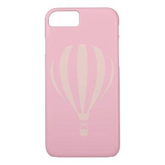Coque iPhone 8/7 Cas chaud rose de l'iPhone 7 de ballon à air