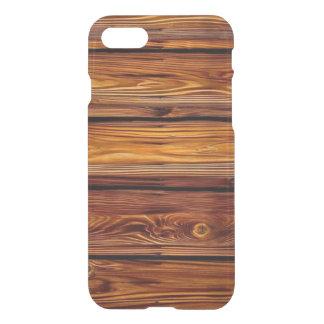 Coque iPhone 8/7 Cas clair de l'iPhone 7 en bois de grange