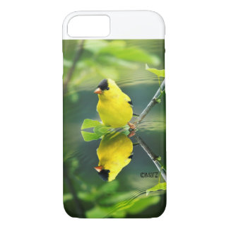 Coque iPhone 8/7 cas de chardonneret de l'iPhone 7