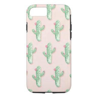 Coque iPhone 8/7 Cas de l'iPhone 6/6s d'impression de cactus de