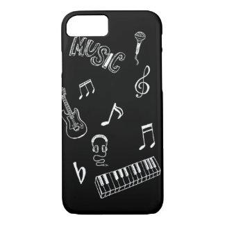 Coque iPhone 8/7 cas de l'iPhone 6 de musique