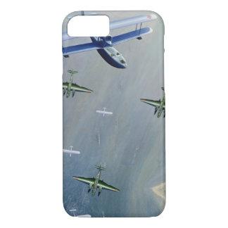 Coque iPhone 8/7 Cas de l'iPhone 7 d'avions de combat