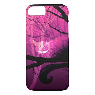 Coque iPhone 8/7 Cas de l'iPhone 7 de chat de Cheshire - rose