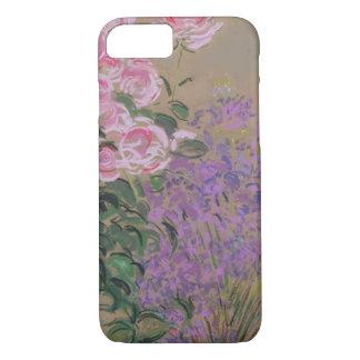 Coque iPhone 8/7 Cas de l'iPhone 7 de fleurs (en pastel sur le