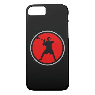 Coque iPhone 8/7 Cas de l'iPhone 7 de joueur de lacrosse
