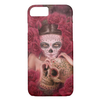 Coque iPhone 8/7 Cas de l'iPhone 7 de Las Calaveras