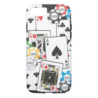 Coque iPhone 8/7 Cas de l'iPhone 7 de main de poker