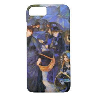 """Coque iPhone 8/7 Cas de l'iPhone 7 de """"parapluies"""" de Pierre"""