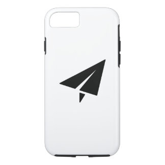 Coque iPhone 8/7 Cas de l'iPhone 7 de pictogramme d'avion de papier