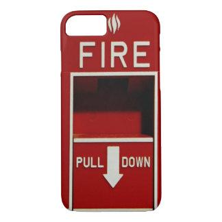 Coque iPhone 8/7 Cas de l'iPhone 7 de station de traction du feu