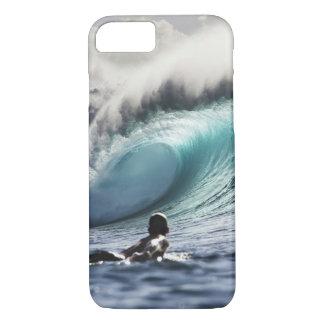 Coque iPhone 8/7 Cas de l'iPhone 7 de vague de surfer