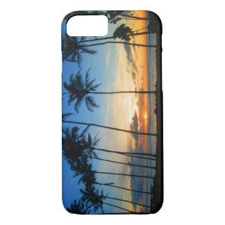 Coque iPhone 8/7 Cas de l'iPhone 7 d'Hawaï Kauai - lever de soleil