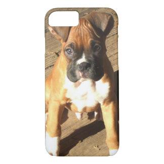 Coque iPhone 8/7 Cas de l'iPhone 8 de chiot de boxeur