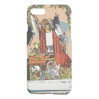 """Coque iPhone 8/7 Cas de """"magicien"""" (tarocchi du RW - ver de pêche)"""