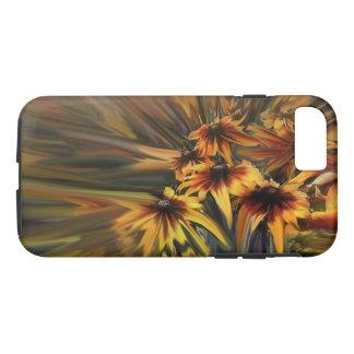 Coque iPhone 8/7 Cas de téléphone d'abrégé sur marguerite de