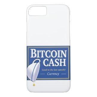 Coque iPhone 8/7 Cas de téléphone de bout d'argent liquide de