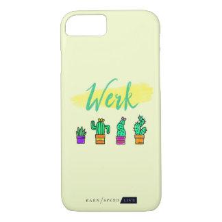Coque iPhone 8/7 Cas de téléphone de cactus de Werk