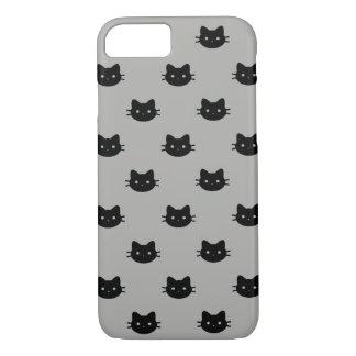 Coque iPhone 8/7 Cas de téléphone de chat noir