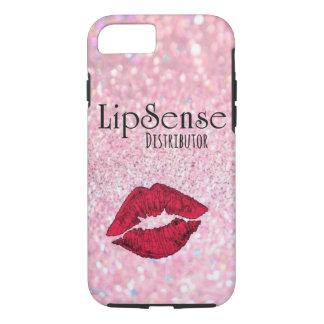 """Coque iPhone 8/7 Cas de téléphone """"de distributeur de Lipsense"""""""