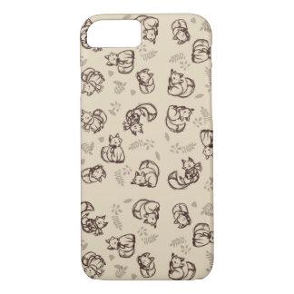 Coque iPhone 8/7 Cas de téléphone de Fox de griffonnage