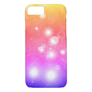 Coque iPhone 8/7 Cas de téléphone de galaxie d'arc-en-ciel