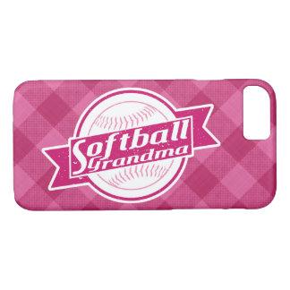 Coque iPhone 8/7 Cas de téléphone de grand-maman du base-ball