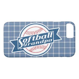 Coque iPhone 8/7 Cas de téléphone de grand-papa du base-ball