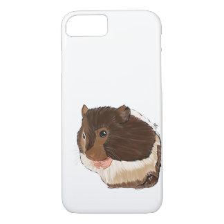 Coque iPhone 8/7 Cas de téléphone de hamster, illustration de