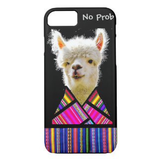 Coque iPhone 8/7 Cas de téléphone de lama - aucun Prob