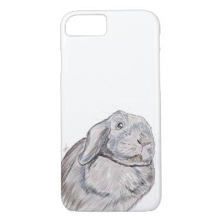 Coque iPhone 8/7 Cas de téléphone de lapin de lapin, illustration