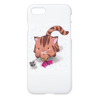 Coque iPhone 8/7 Cas de téléphone de l'iPhone 7 de chat et de