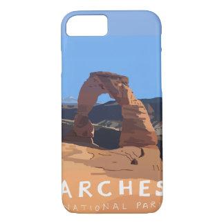 Coque iPhone 8/7 Cas de téléphone de parc national de voûtes -