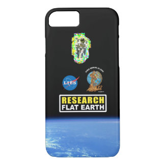 Coque iPhone 8/7 Cas de téléphone de #RESEARCHFLATEARTH