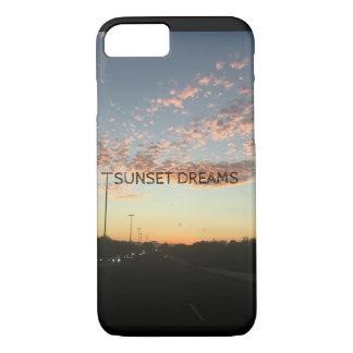 Coque iPhone 8/7 Cas de téléphone de rêves de coucher du soleil