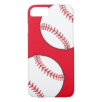 Coque iPhone 8/7 Cas de téléphone d'impression de base-ball