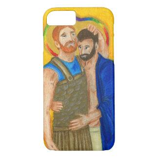 Coque iPhone 8/7 Cas de téléphone Jonathan et de David