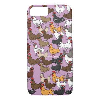 Coque iPhone 8/7 Cas de téléphone portable/couverture - pourpre