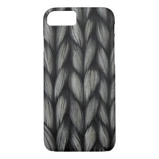 Coque iPhone 8/7 Cas de tricotage de téléphone