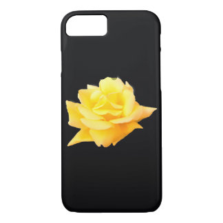 Coque iPhone 8/7 cas d'iPhone/iPad, rose rouge