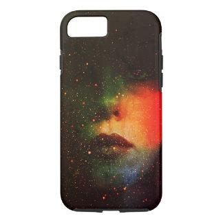 Coque iPhone 8/7 Cas dur d'IPhone 7 de fille cosmique