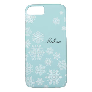 Coque iPhone 8/7 Cas élégant de l'iPhone 7 de flocons de neige