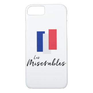 Coque iPhone 8/7 Cas français de téléphone de conception de drapeau