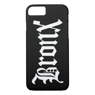 Coque iPhone 8/7 Cas gothique vintage de l'iPhone 7 de Bronx NYC
